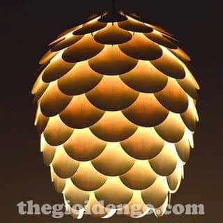 Đèn gỗ trang trí quả thông cánh tròn của quangtien5207 tại 67/6 Bờ Bao Tân Thắng, Sơn Kỳ, Quận Tân Phú, Hồ Chí Minh - 2162227