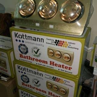 Đèn sưởi nhà tắm Kottman- loại 3 bóng của baoquyen19 tại Hải Phòng - 2038170