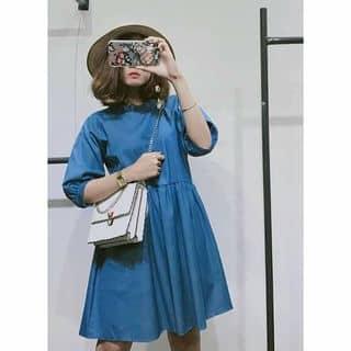 Denim babydoll dress của trammio tại 01207453862 - 01885763289, Quận 1, Hồ Chí Minh - 2656769