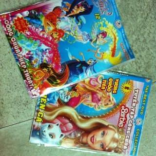 Đĩa DVD: 1.Tuyển tập Công Chúa Barbie, 2.Công chúa phép thuật Winx(2disc) của nguyendulich48 tại Thừa Thiên Huế - 2252544