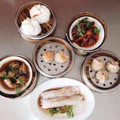 Tân Nguyên Thái dim sums in Cho Lon, Vietnam Chinatown