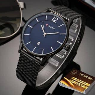 Đồng hồ curren - Dây đen mặt xanh của teammaziohgchuy tại Hồ Chí Minh - 2907476