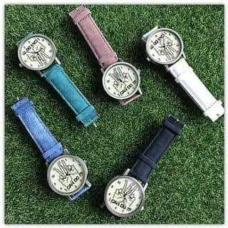 đồng hồ nữ dây vải của trang0310 tại Ninh Bình - 3390349