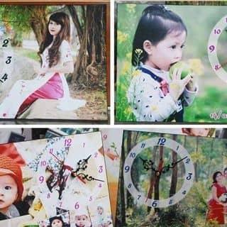 Đồng hồ treo trong nhà được in những bức ảnh của mình của tungo20 tại Thái Nguyên - 2654112