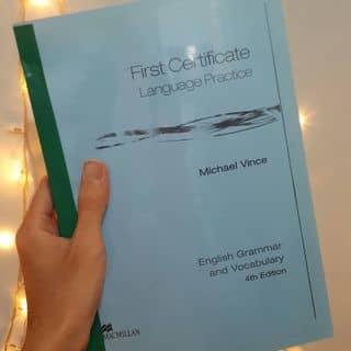[First Certificate] Language Practice (grammar & vocabulary) - tác giả Michael Vince của duongdai25 tại Quận Thủ Đức, Hồ Chí Minh - 2460069