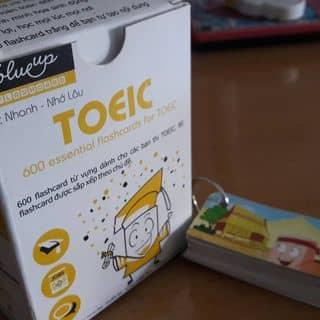 Flashcard TOEIC 600 VOCABULARY của trang_so_cute tại Bình Dương - 1719007