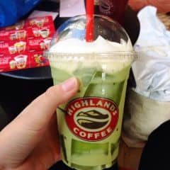 Fzeeze trà xanh ✨🎉💕 của Buxiomoto Beo tại Highlands Coffee - Royal City - 2456970