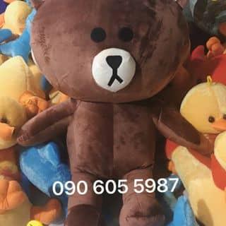 Gấu Brown 80cm của gaubongkhonglo tại An Giang - 2984404