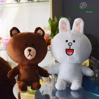 Gấu Brown và thỏ Cony của thegioihoahong tại 46 Ký Hòa, Phường 11, Quận 5, Hồ Chí Minh - 1793593