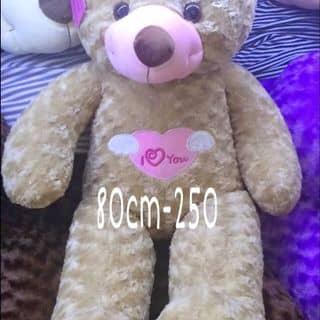 Gấu ngực tim angle xám của gaubongxinhshop tại 131 Cù Lao, phường 2, Quận Phú Nhuận, Hồ Chí Minh - 749510