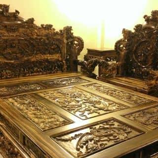 Ghế rồng đỉnh gỗ mun hoa  của cogaikimcuong tại Thái Nguyên - 1723113