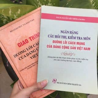 Giáo trình đường lối Đảng cộng sản việt nam + sách hỏi đáp của linlin811 tại Hồ Chí Minh - 3041403