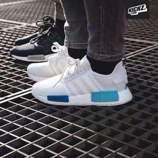 Giày Adidas NMD trắng xanh size 38 hàng F1 của kellythuy tại Hà Tĩnh - 3269509