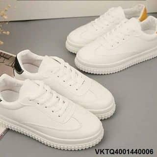 Giày bánh mì da sần trắng tinh khôi của ngocanh.anhanh.1 tại Quảng Ninh - 2650191