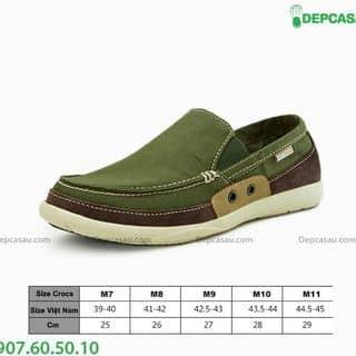 Giày Crocs nam walu Xanh rêu của meoluoj1 tại 48/4 Trần Đình Xu, Cô Giang, Quận 1, Hồ Chí Minh - 887135
