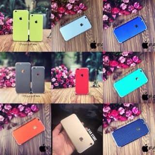Giấy dán iPhone với chất liệu decal có đủ loại màu cho tất cả dòng iphone chống xước chống bám  dán toàn bộ mày của loduong957 tại Sơn La - 2290487