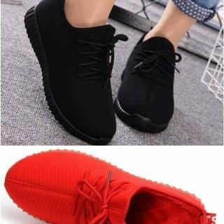 Giày nữ lót lông đen đỏ của malangthang tại Điện Biên - 2492869