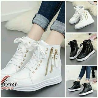 Giày sneaker cổ cao ful đen nka m.n có sẵn size 36 ...zao nhanh trong ngày nka của lethihuyendung tại Phú Yên - 2495266