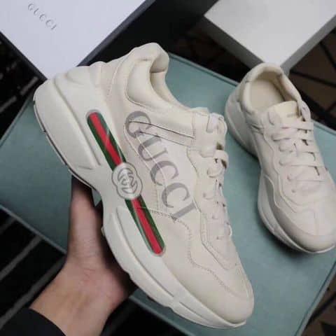 80c9f36a20b Giày Sneaker Nam Nữ Gucci Rhyton Leather Sneaker - 6143459 newwaysneaker - 1 192  Giải