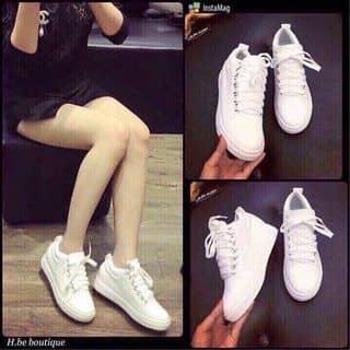 Giày thể thao buộc dây trắng đen của ttcvbh tại Hà Tĩnh - 1279923