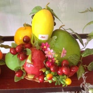 giỏ trái cây giả của phamdi7 tại Trần Đại Nghĩa, Phường 4, Thành Phố Vĩnh Long, Vĩnh Long - 2443442