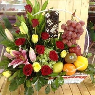 Giỏ trái cây kết hợp hoa tươi 😆 của phamdi7 tại Trần Đại Nghĩa, Phường 4, Thành Phố Vĩnh Long, Vĩnh Long - 2259309