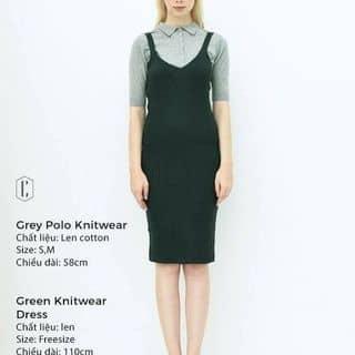 Green knitwear dress Cocosin của trinhkoncrazy97 tại Hồ Chí Minh - 2411795