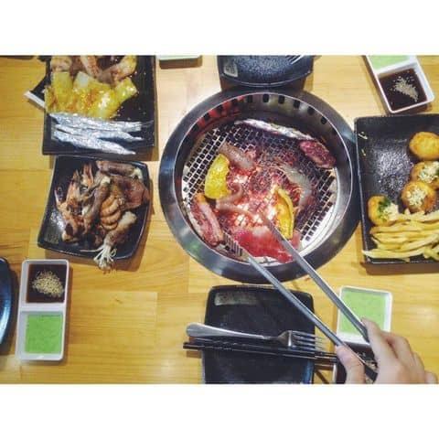 Các hình ảnh được chụp tại Hana BBQ & Hot Pot Buffet - Điện Biên Phủ