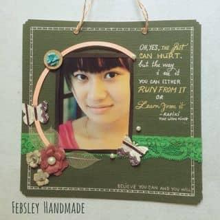 Handmade layout - khung hình treo của febsleyhandmade tại 0927 966 699, Quận 1, Hồ Chí Minh - 334100