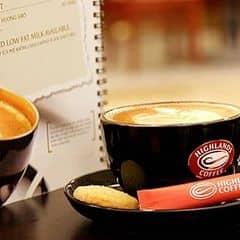 Highlands Coffee - Lê Thánh Tôn