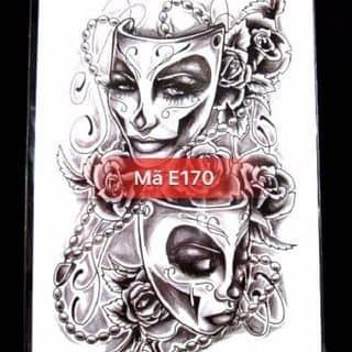 Hình xăm dán tattoo hai mặt E170 của noshop.vn tại 25/6 Đội Cung, phường 11, Quận 11, Hồ Chí Minh - 1736069