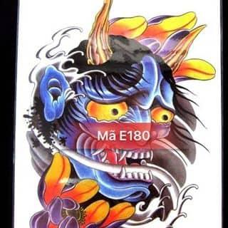 Hình xăm dán tattoo mặt quỷ E180 của noshop.vn tại 25/6 Đội Cung, phường 11, Quận 11, Hồ Chí Minh - 1736107