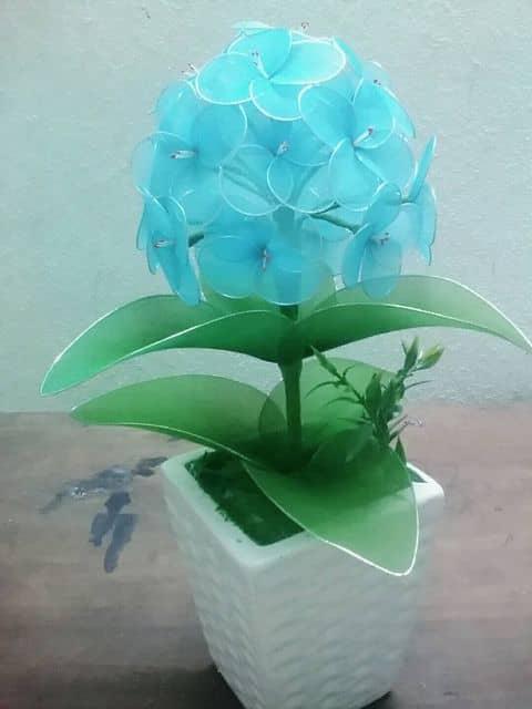Hoa cẩm chướng vải voan - Cách làm hoa cẩm chướng từ vải voan