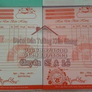 Hóa đơn 2 liên của kgdecal tại Kiên Giang - 2902665