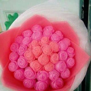 Hoa hồng búp làm từ giấy xốp của lengocthanh7 tại Lâm Đồng - 1192037