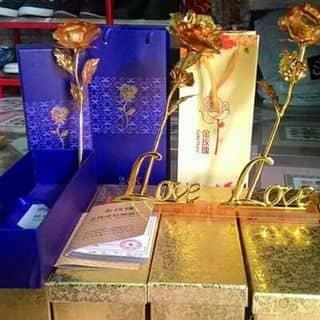 Hoa hồng dát vàng 24k của nguyetnhu13 tại Kiên Giang - 1127707