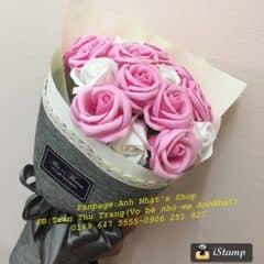 Hoa sáp hoa lụa Hàn Quốc. Ngoài đẹp hơn hình nhé. Mời mn qua xem  #anhnhatshop #hoasap #hoasapvinhcuu #flowers #hoadep #quatang #quàtặng #quatangbangai #hoalua #mypham #myphamhanquoc #quatangvo #quavalentine #quàvalentine