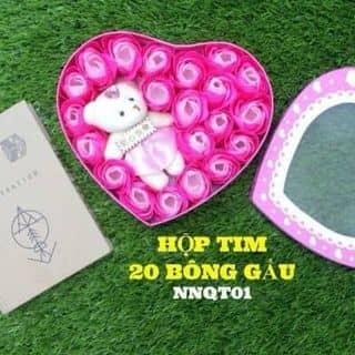 Hoa sáp hộp tim kèm gấu của phuongvc123 tại Sóc Trăng - 2128105