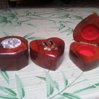 hộp đựng nhẫn bằng gỗ trang trong của nguy2500 tại Nam Định - 1306459
