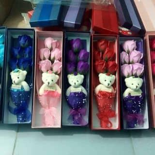 Hộp hoa sáp thơm 5 bông+gấu của nanamimi tại Thái Bình - 2576094