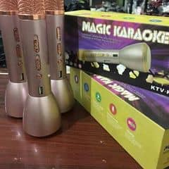 🌺🌺🌺Hot Hot 💃💃mic  3 in 1 hát karaoke từ điện thoại si 350k Thông số sản phẩm: - Bluetooth: v4.0 - Công suất loa: 3W - Sản lượng điện: 10mW( tai nghe đầu ra) 3w( loa đầu ra) - Dải tần số: 100Hz - 10KHz  - Tối đa SPL: về 115dB 1 kHz - Khối lượng: 0.460 kg  - Reverb chế độ: echo âm vang âm thanh - Pin dung lượng: 2600 mAh - Thời gian làm việc của pin: 3-5 giờ - Kích thước: 22 x 6,5 cm - Kích thước nguyên hộp: 10 x 7,8 x 24,7 cm - Sạc điện: Nguồn DC 5V Kết nối điện thoại với hỗ trợ Android, iphone, ipad... Với các ứng dụng, bạn có thể trải nghiệm những giây phút sảng khoái nhất