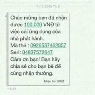 HƯỚNG DẪN NHẬN CARD 100K của ahihi18 tại Shop online, Quận Kinh Dương, Hải Phòng - 3287663