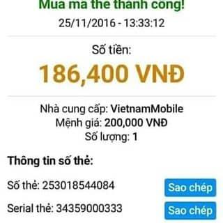 Hướng dẫn nhận card 200k của ahihi18 tại Shop online, Quận Kinh Dương, Hải Phòng - 2950332