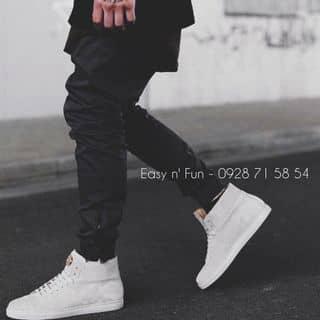 Jogger pants zipper black của feu1210 tại Hà Tĩnh - 543891