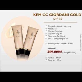 Kem CC Giordani Gold SPF 35 của tranganh2017 tại Bắc Ninh - 2042729