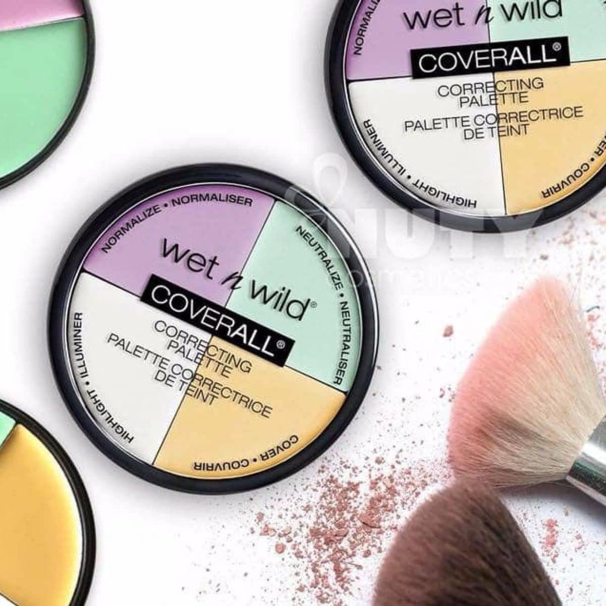 KEM CHE KHUYẾT ĐIỂM Wet n Wild Coverall Correcting Palette tại Dung Vương Cosmetics của Dung