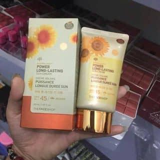 Kem Chống Nắng Kiềm Dầu The Face Shop Natural Sun Eco Oil Clear Sun Cream SPF50 PA+++ của giangcam21 tại Trà Vinh - 3423578