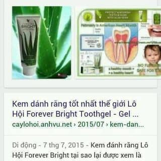 Kem đánh răng của quangthanh77 tại Hồ Chí Minh - 2593837