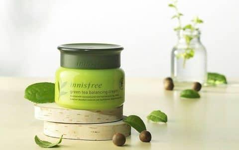 Картинки по запросу Green Tea Balancing Cream innisfree