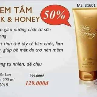 Kem tắm MILK& HONEY của ngocdiepnguyendo tại Shop online, Huyện Thái Thụy, Thái Bình - 2234360